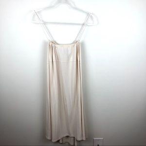 Athleta Beige Athletic Dress Thin Straps XL